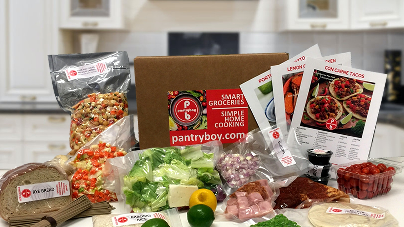 Too busy to shop & cook? Prepared ingredients for delicious recipes delivered to your doorstep. Always free shipping.