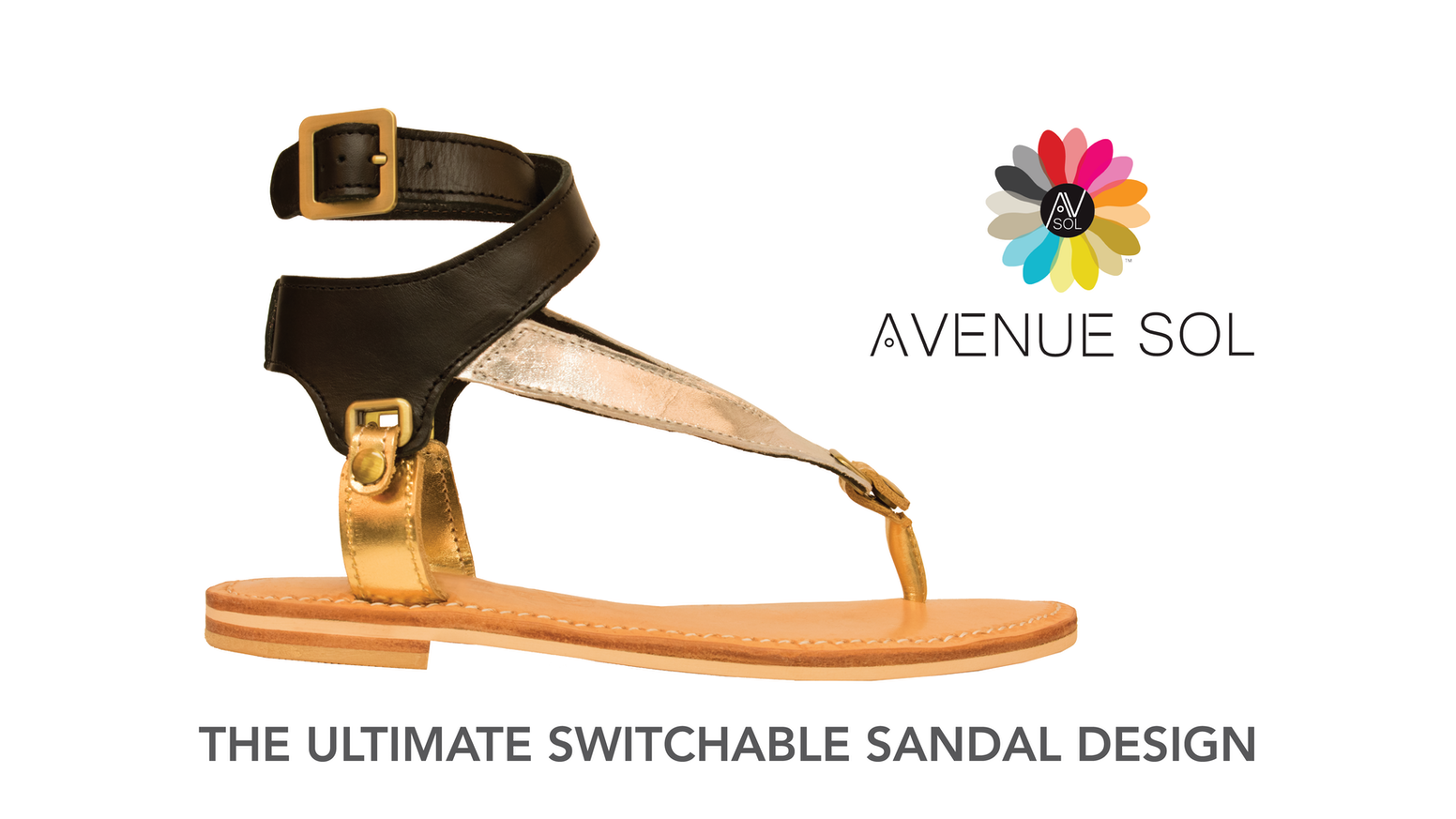 *Avenue Sol*  Switch Sandal Styles