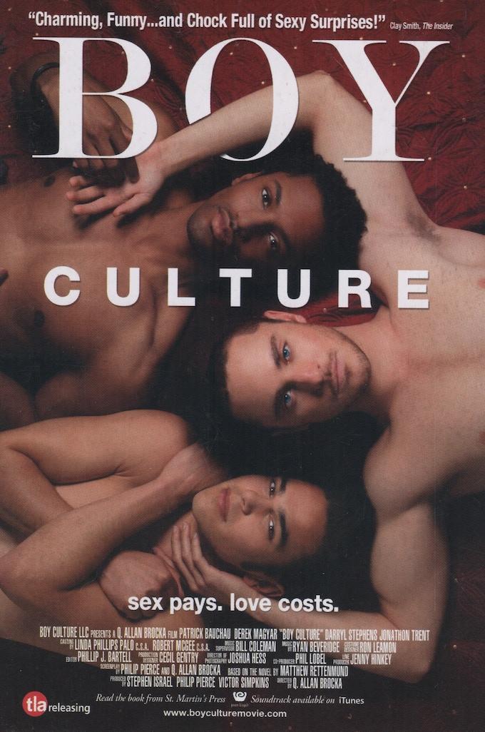 """Original """"Boy Culture"""" movie poster (2006)"""