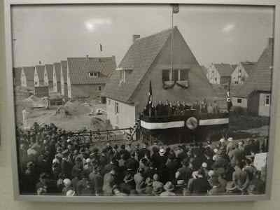 One of the festivities to inaugurate a new residence in the 30s