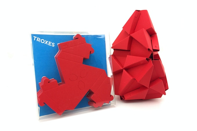 Troxes Origami Building Blocks By Jonathan Bobrow Kickstarter