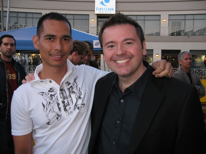 "Allan & Matthew at ""Boy Culture's"" L.A. premiere in 2007"