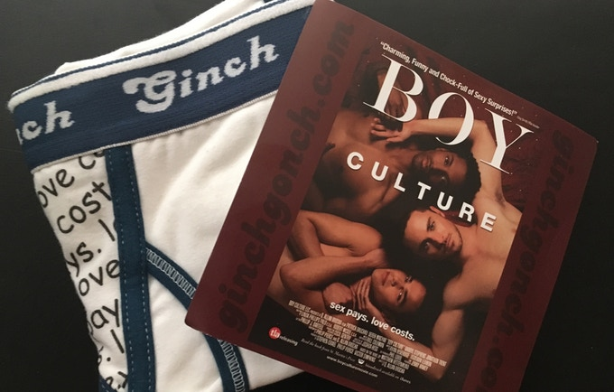 "Get these Ginch Gonch ""BC"" briefs for a $120 pledge! (See rewards.)"