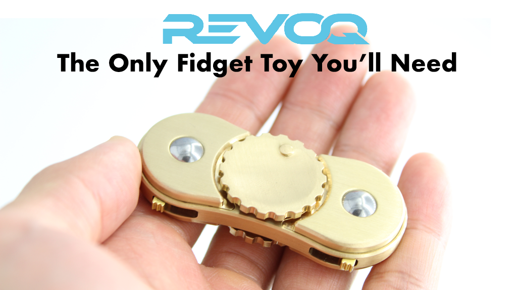 REVOQ™ : The All-In-One, Multi-Functional Fidget Spinner project video thumbnail