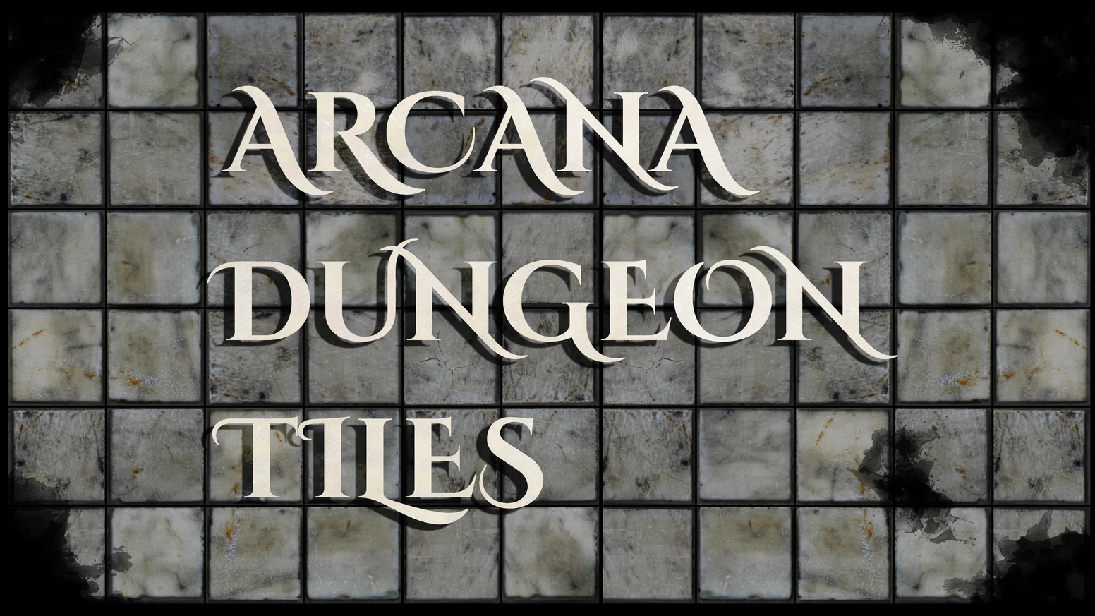 Detailed tiles to create infinite custom dungeons for any tabletop RPG!