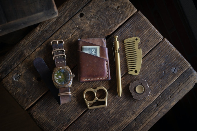 The Pocket Comb completes that essential piece of Everyday Carry.