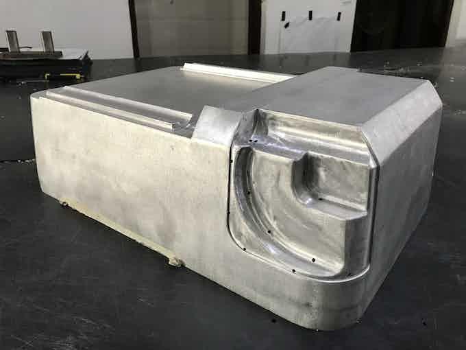Xtend® Production aluminium mould