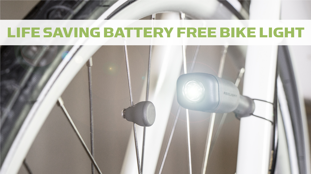 CIO - Battery Free Bike Light project video thumbnail