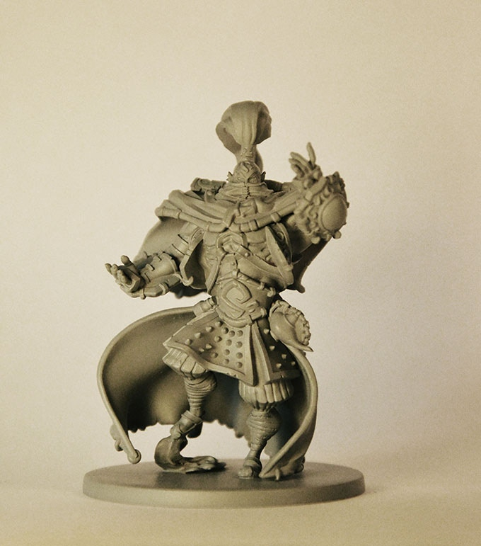 Real 3D print Master 70mm for Berhin - Sculptor Gregory Clavilier