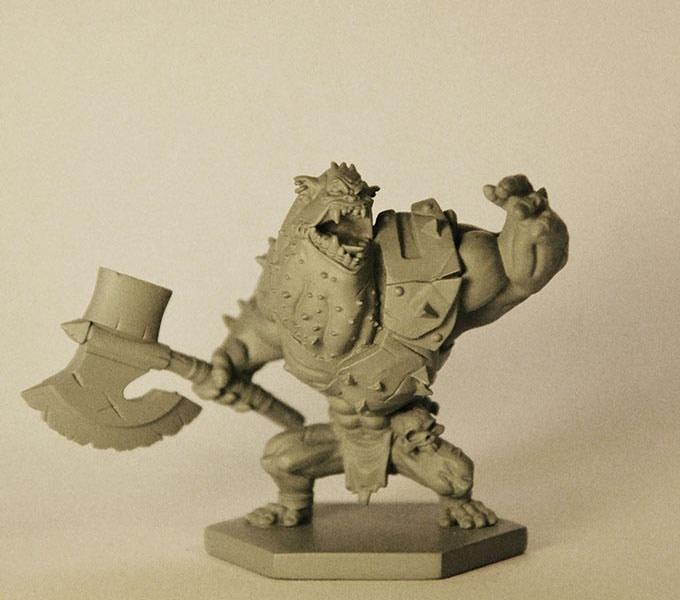 Real 3D print Master 45mm - Sculptor Gregory Clavilier