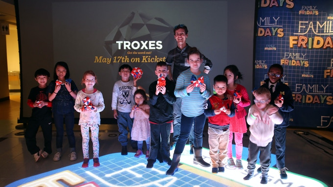"""Troxes aren't Boxes"" at the National Museum of Mathematics in NYC (MoMath)"