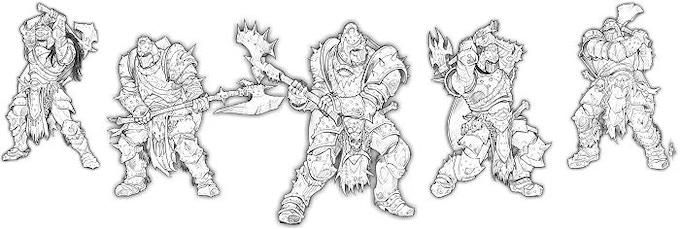 The Eye Arisen, Great Axe Warrior of Baalor Unit