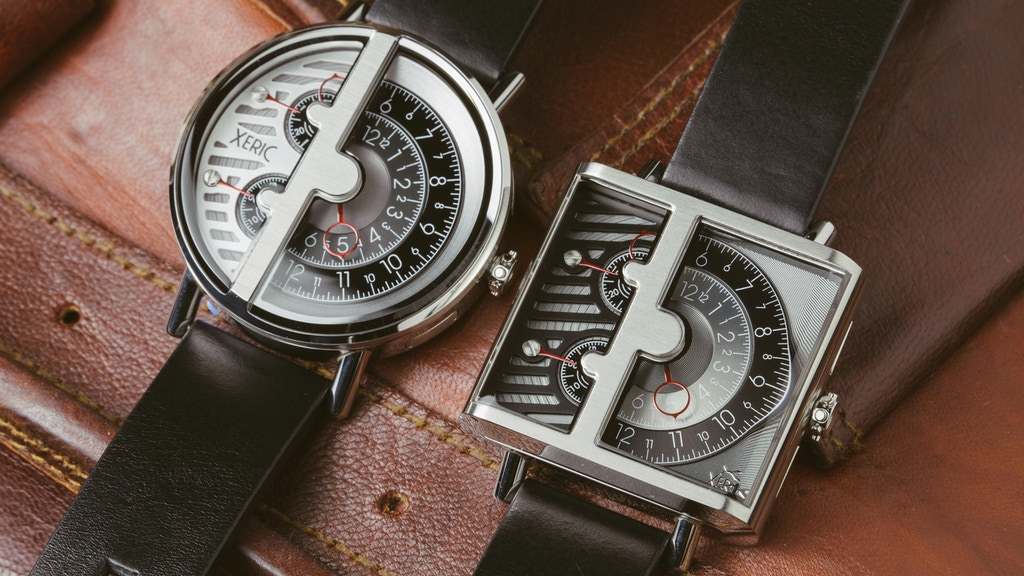 Unmistakably XERIC: the One-Handed RQ & SQ Watch Collection project video thumbnail