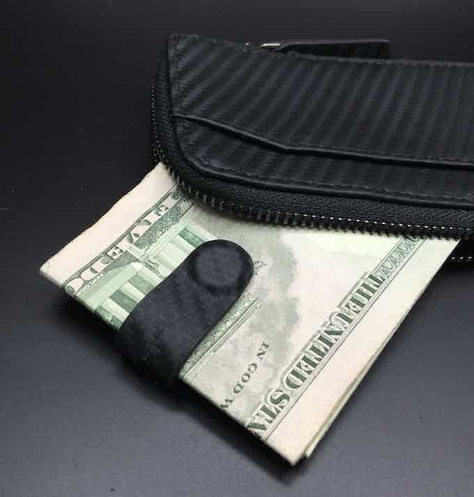 x-pocket with magnetic money clip