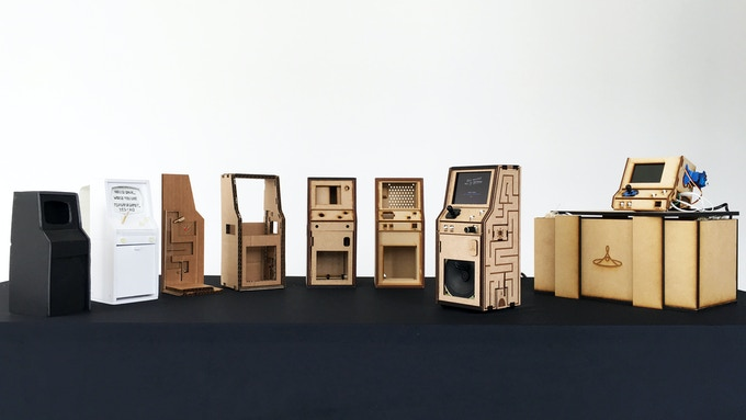 Sample of Cabinet Prototypes produced in the DesignLab through Mid-May
