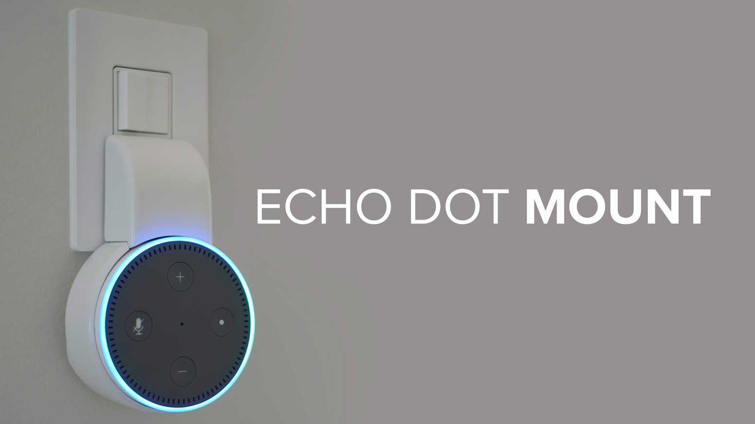 echo dot mount the ultimate accessory for your echo dot. Black Bedroom Furniture Sets. Home Design Ideas