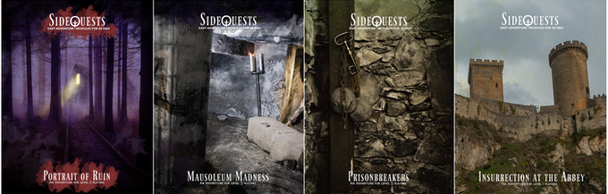 SideQuest Module Covers
