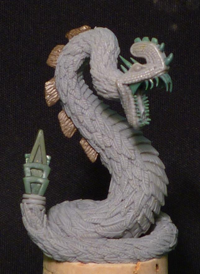 Xiuhcoatl, The Flame Serpent - $12