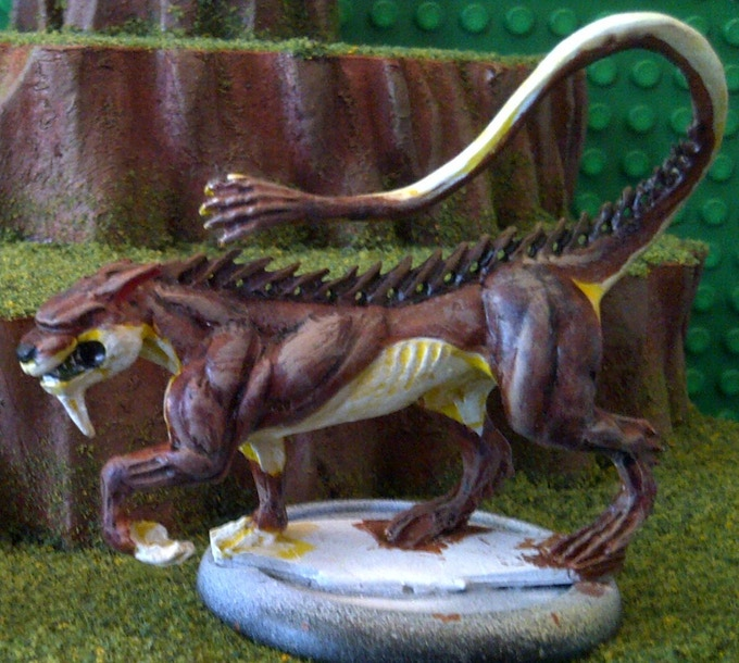 Ahuizotl Otter V.1 - $13 (This is a metal model)