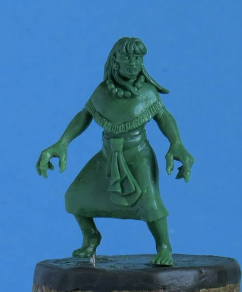 Tlahuelpuchi, the Aztec Vampire - $6 (this is a resin model)