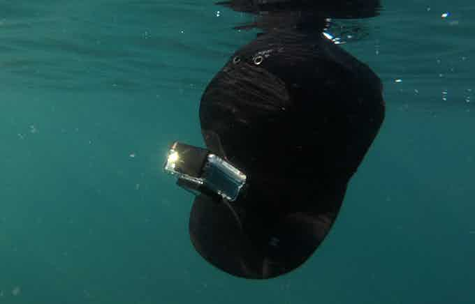 It FLOATS with one action camera (or up to 6 oz mounted)