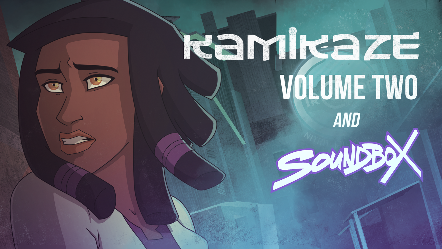 The saga continues! With the help of over 280 fans, we raised the funds to print Kamikaze Volume 2 and SoundBox.  Stay tuned for further updates!