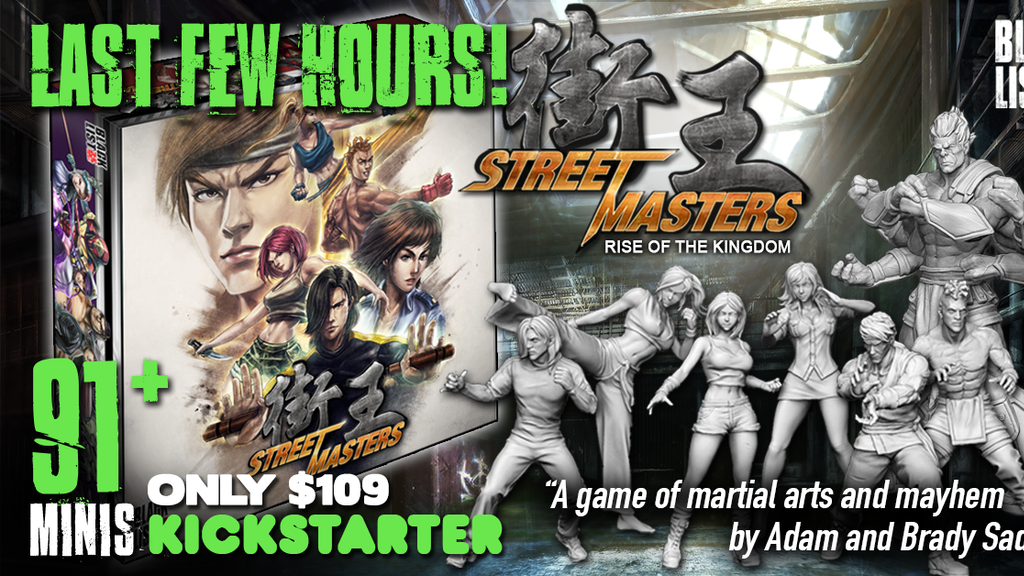 Street Masters Rise of the Kingdom project video thumbnail