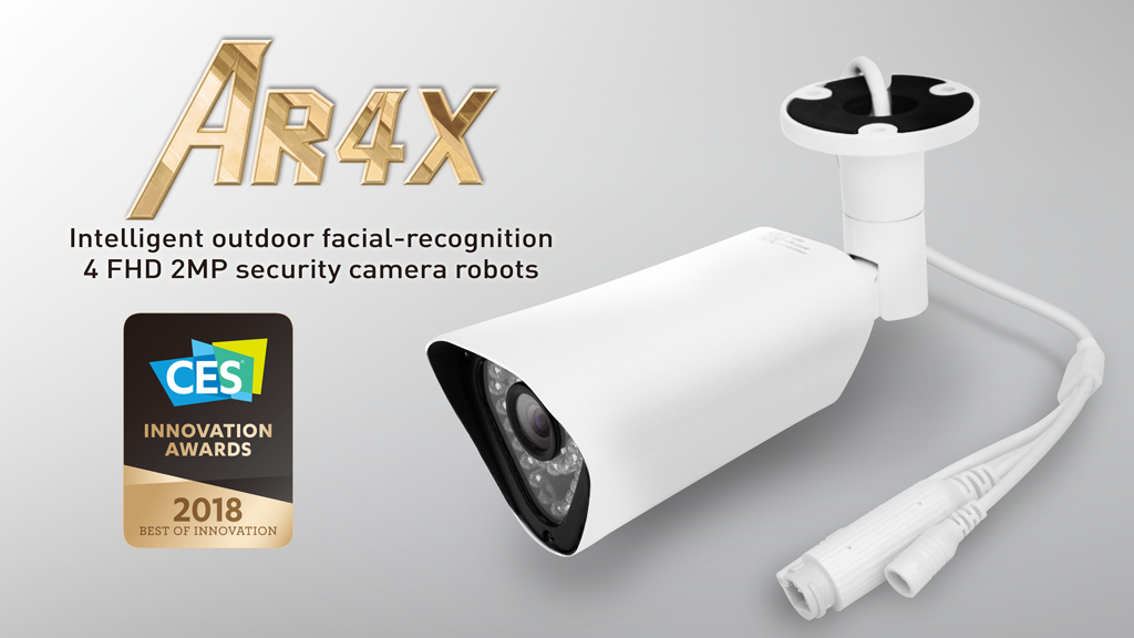 AR4X - The Intelligent Camera Robot that Redefines Security! project video thumbnail