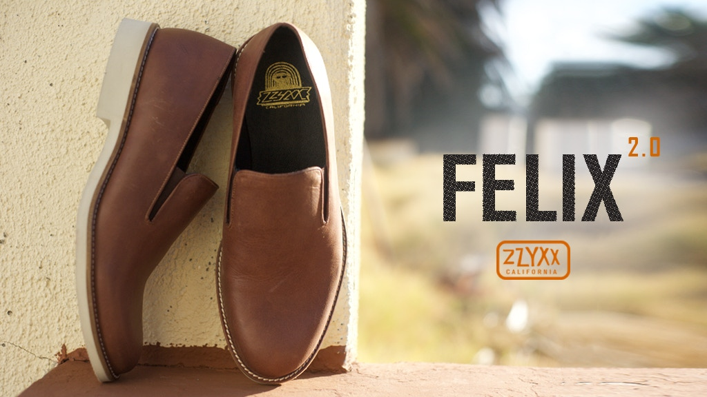 Felix 2.0 - Luxuriously Casual Slip-On Shoes project video thumbnail