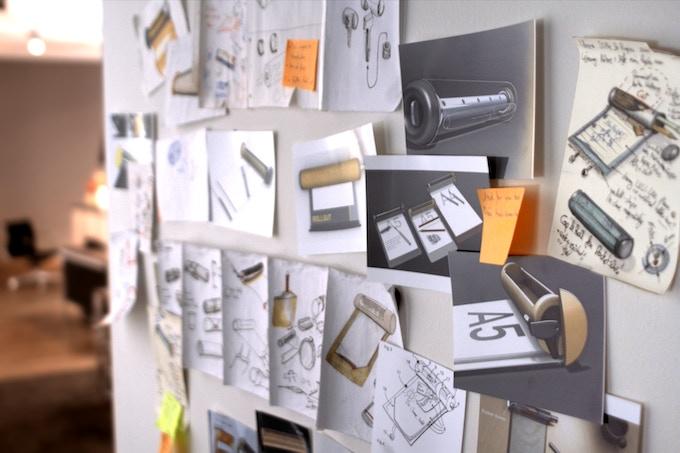 Beim Produktdesign wurden digitale und analoge Wege beschritten. 'Click' um mehr über die Entwicklung zu erfahren.