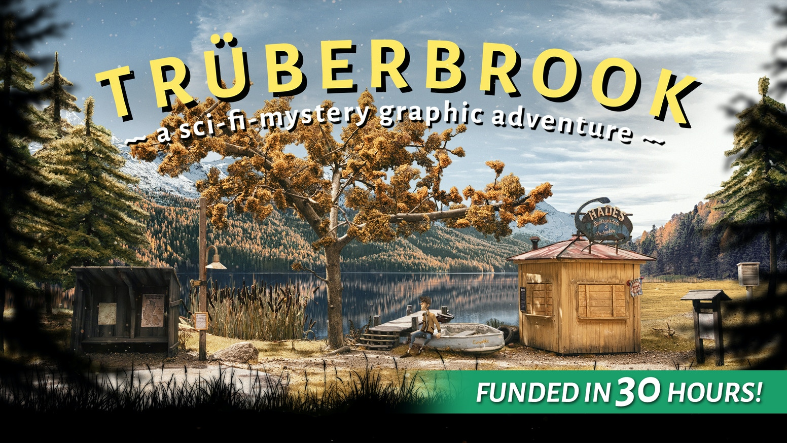 TRÜBERBROOK – A Nerd Saves the World by btf — Kickstarter