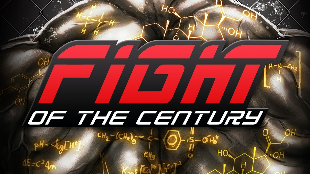 FIGHT OF THE CENTURY - A MMA, CYBERPUNK COMIC #FOTC project video thumbnail