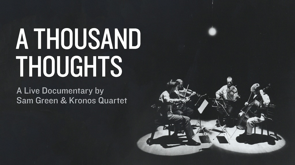A Thousand Thoughts project video thumbnail