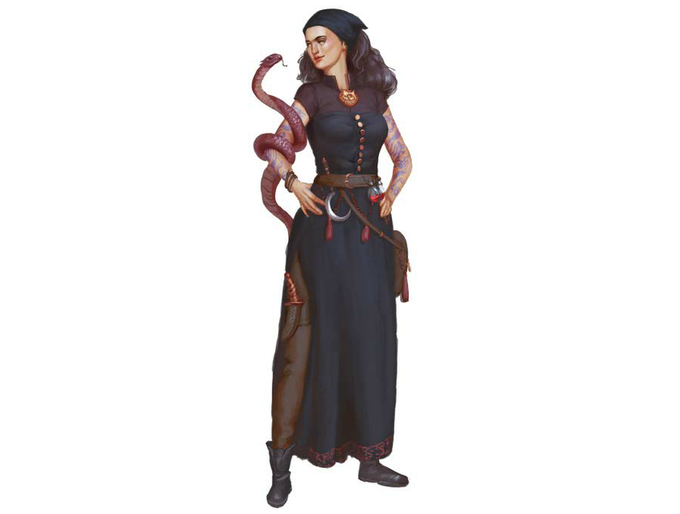 A Sister of Knowledge (Colloquially - Serpent Witch)