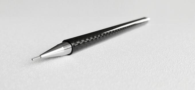Handmade Carbon Fiber Mechanical Pencil (Carbon Fibre) by