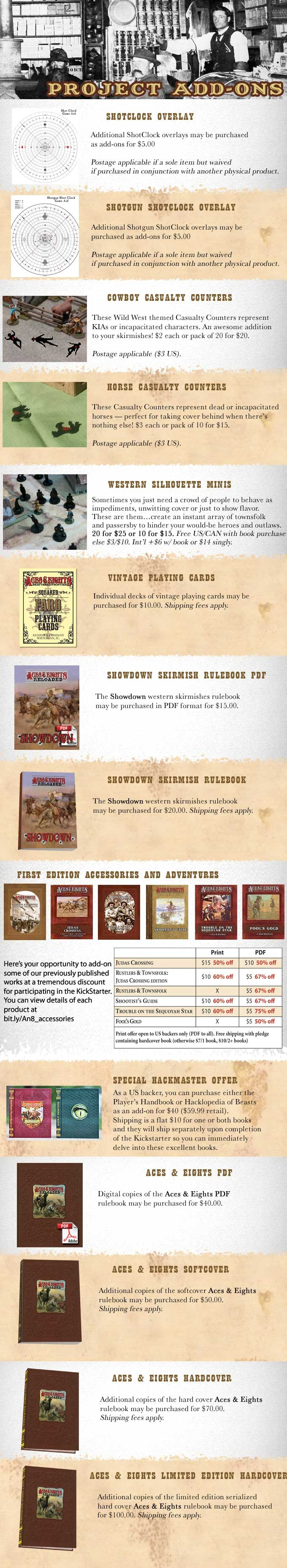 Aces & Eights: Reloaded, a Wild West role playing game by