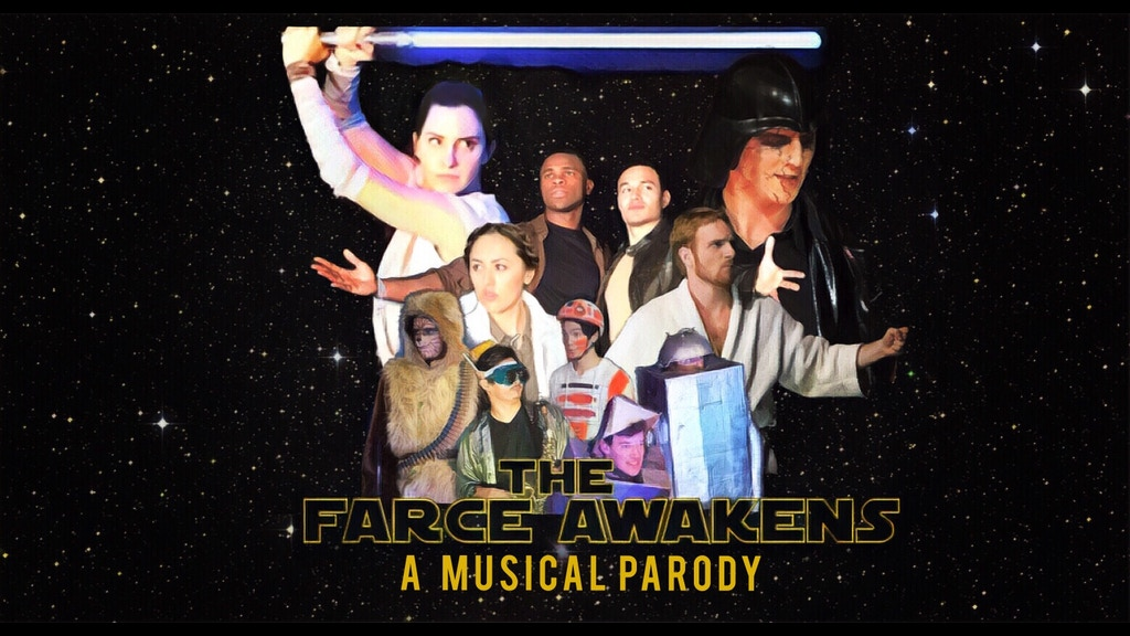 the farce awakens a musical parody by redwood theatre