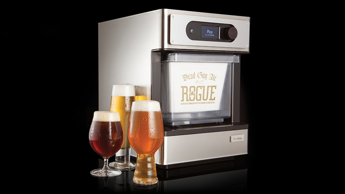 Brew your own fresh, personalized craft beer using professional equipment and ingredients from a worldwide BrewMarketplace