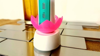 Cuppy: keeps your electric toothbrush clean