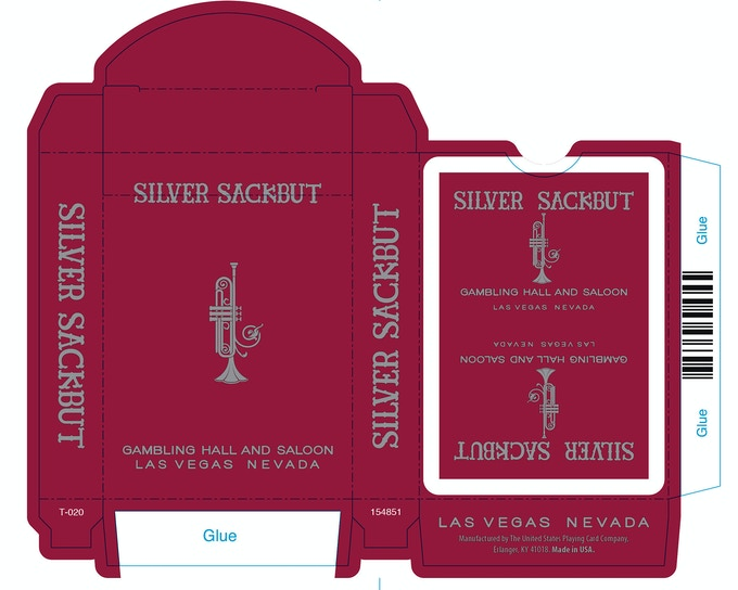 Vegas Red Tuck box