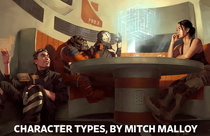 Character Types by Mitch Malloy