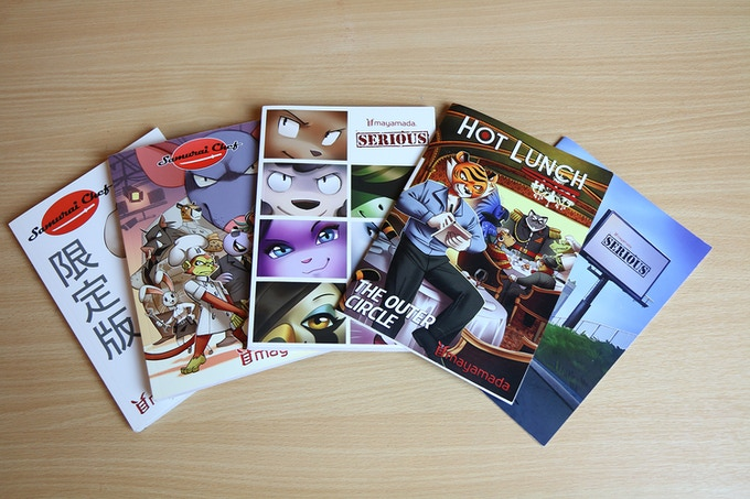 All original mayamada manga books