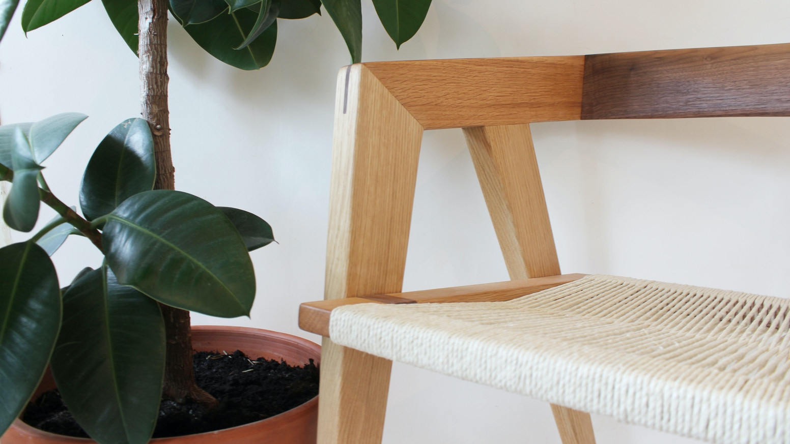 5 pieces of minimal, functional furniture design, handcrafted with traditional woodworking techniques.