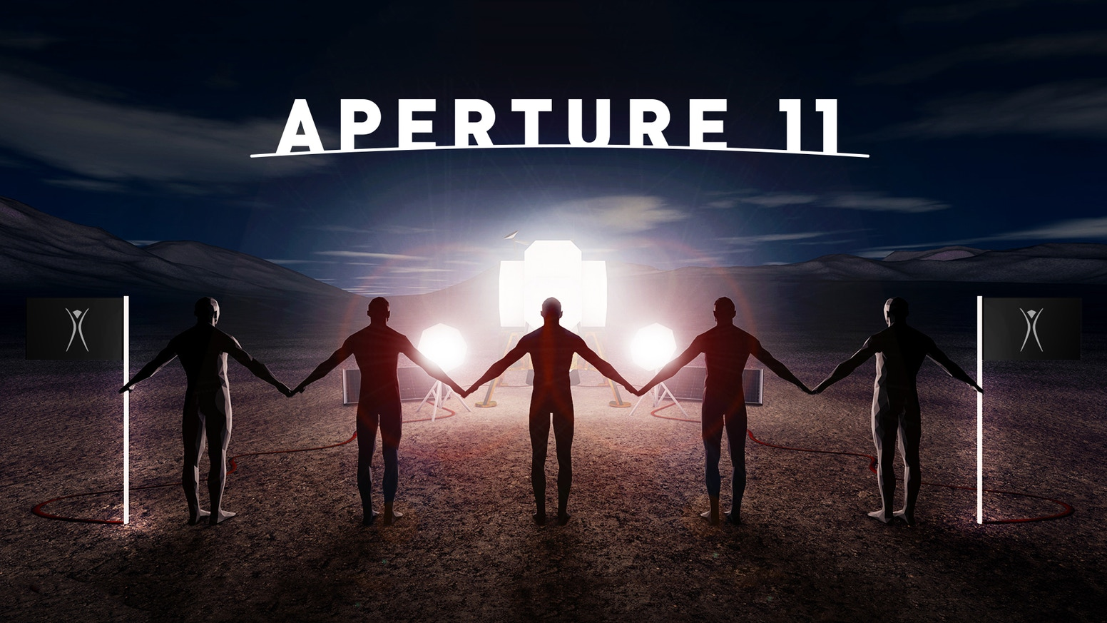 Aperture11 is an interactive & intergalactic photo booth for Burning Man 2017