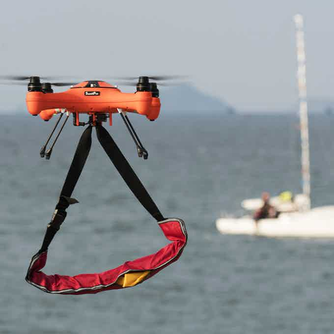 Splash Drone 3 Fisherman Edition with Payload Release System