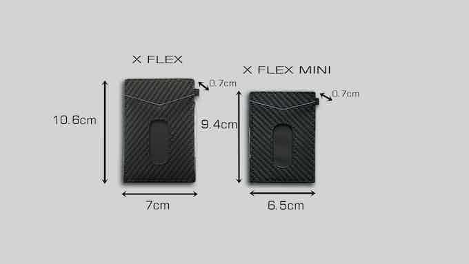 X-Flex and X-Flex mini wallet