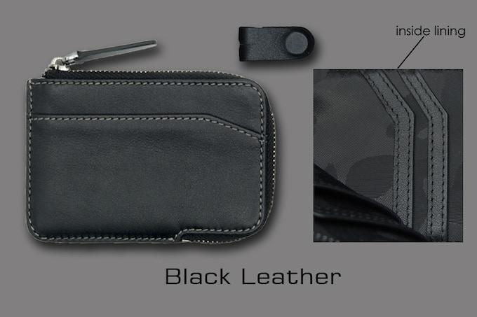 Black leather X-Pocket
