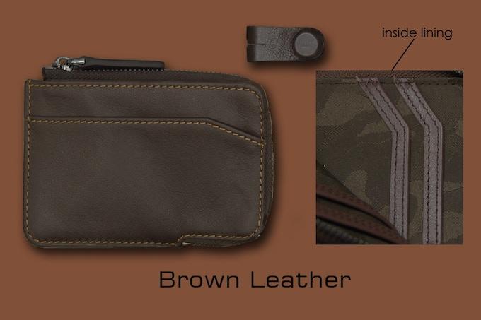 Dark Brown leather X-Pocket
