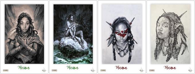 """Hyoung """"Hands"""" ~ Hyoung """"Rocks"""" ~ Milton Paint ~ Milton Sketch"""