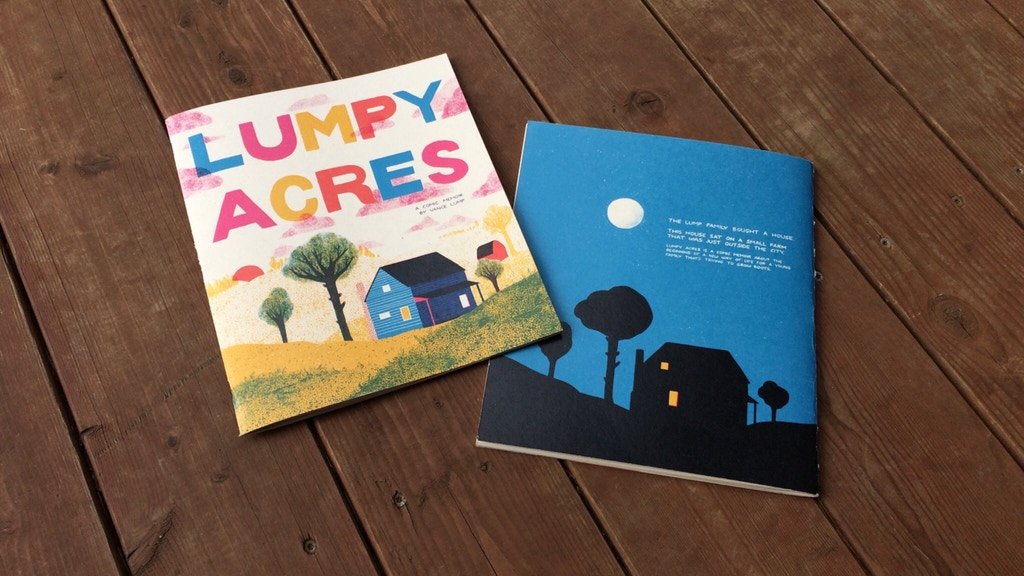 Lumpy Acres: A Comic Memoir project video thumbnail